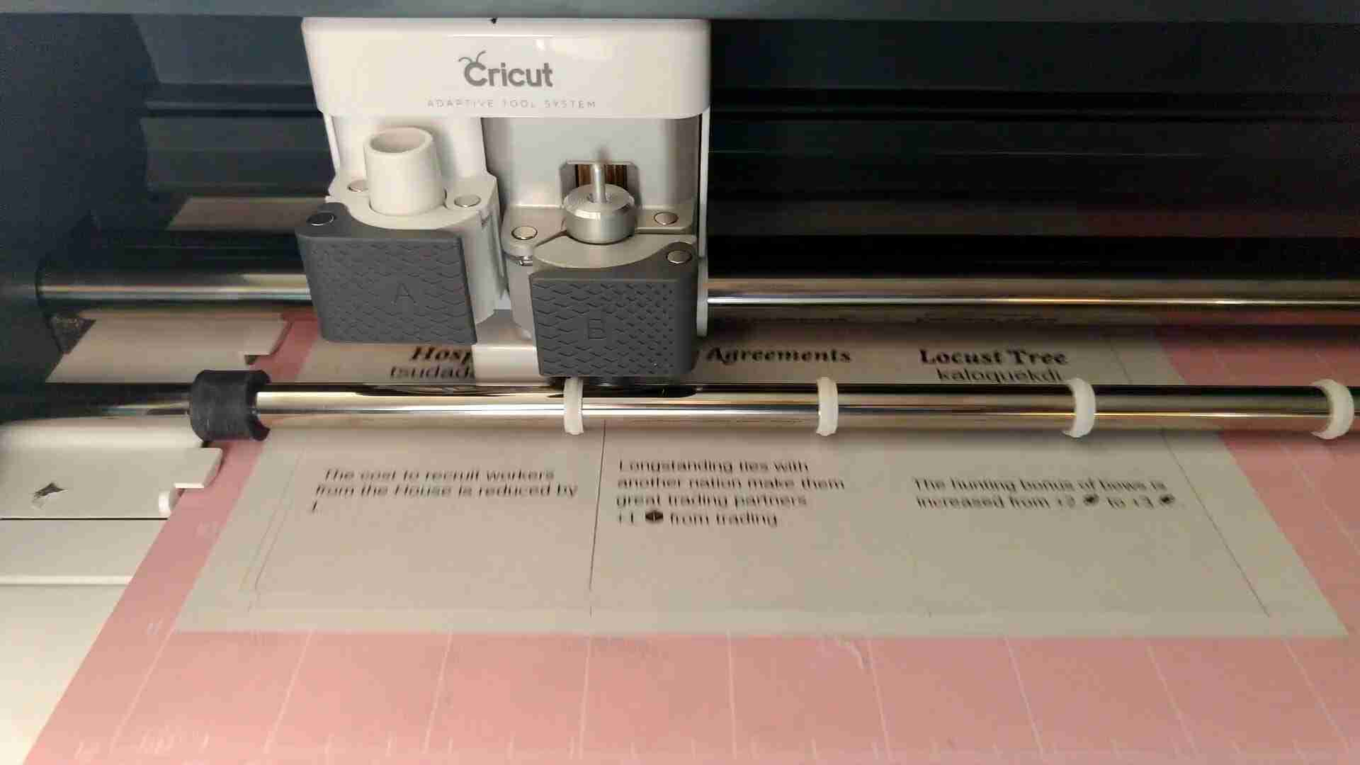 Prototyping with Cricut