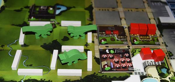 DinoGenics board game