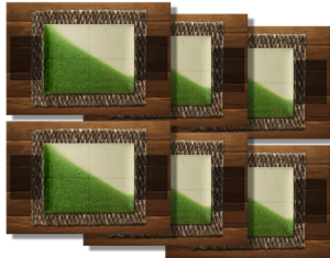 6 Churrascaria Playmats