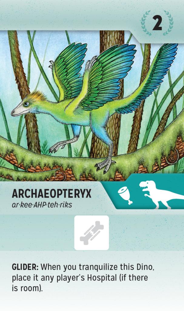 PaleoVet Archaeopteryx card
